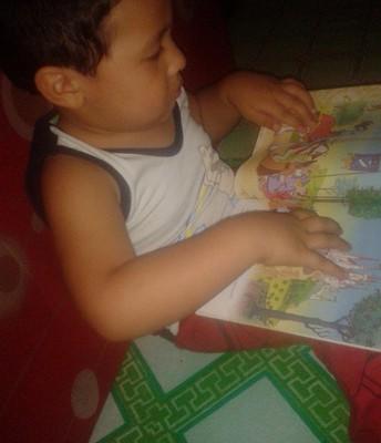 My Kid likes read