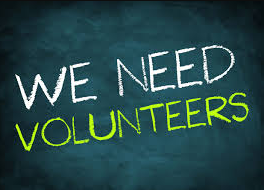 Click on the link to volunteer!