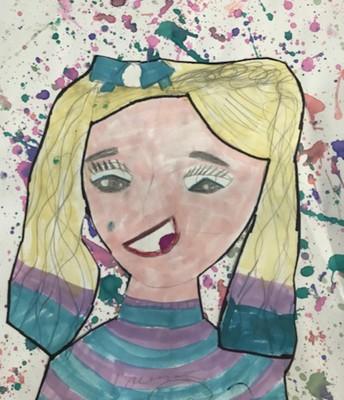 Audrey Irvin, 3rd Grade