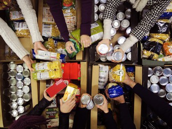 Food Pantry Information for Over the Break