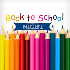Kindergarten & First Grade Back to School Night- Thursday, 8/22 at 6:15 pm