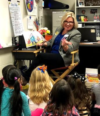 Nancy Rosenberg, (Owner/Operator of Sign Arama (Buford) Principal for a Day!