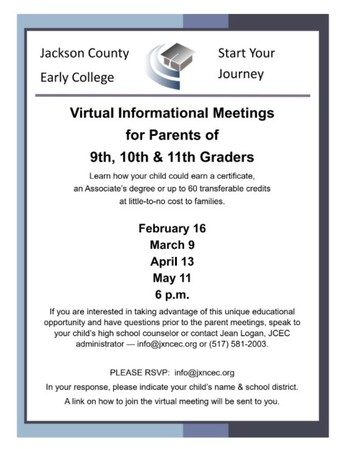 Jackson County Early College Info