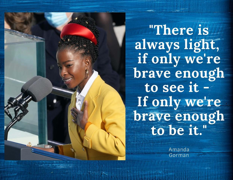 Amanda Gorman Poem at U.S. presidential inauguration