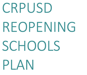 School Schedules and District Reopening Plan