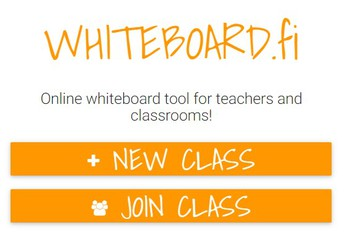 """Click """"New Class"""""""
