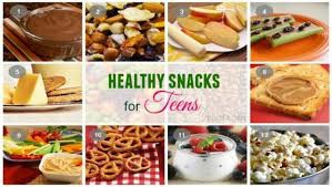 Healthy Meals & Snacks for Teens