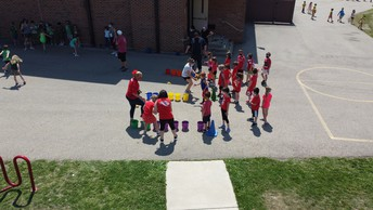 Sky 109 Flying Over Field Day!