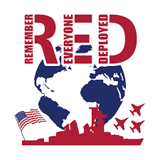 R.E.D. Day - Remember Everyone Deployed