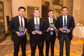 Photo of 2019 young entrepreneur award winners