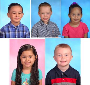 K1 Winners: Isabella, Landon, Johnathan, Liam, Sofia, and Josenith