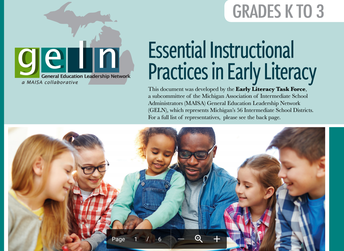 K-3 Essential Instructional Literacy Practices Series 2020-2021