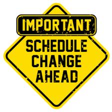 ODD Periods Schedule