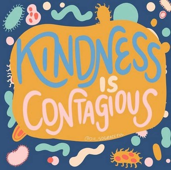 Kindness goes a long way!
