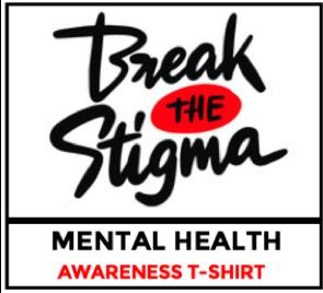 SOS Break the Stigma T-Shirt Orders