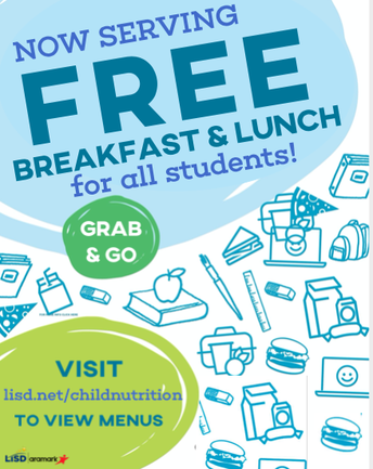 Newsflash from LISD Child Nutrition!