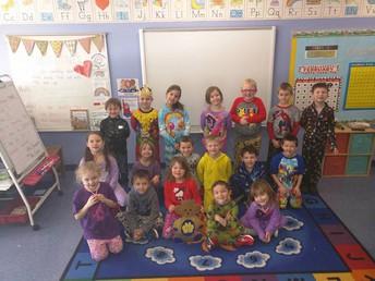 Golden Bear 1st Grade Ms. Shampine and Mrs. Lewis' Class
