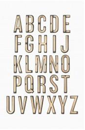 Monogram Sticker Applique - T