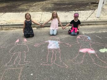 Sidewalk Chalk Fun