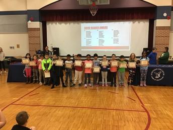 Good Reader Awardees