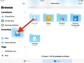How to Add Folders to Favorites List in Files for iOS