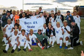 4A State Soccer Champs - CHS