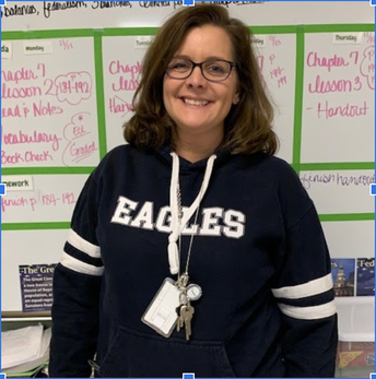 Teacher Feature:  Mrs. Ponder, 8th-grade Social Studies