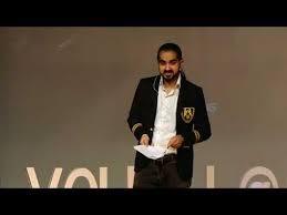 EVAN LUTHRA SPEECH IN TED
