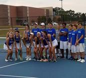 Team Tennis Defeats Bullard to Become District Champs!!!