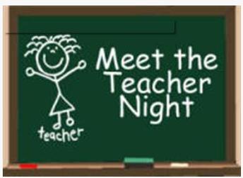 """Today- """"Meet the Teacher Night"""""""