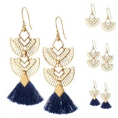 Aida Tassel Earrings $25