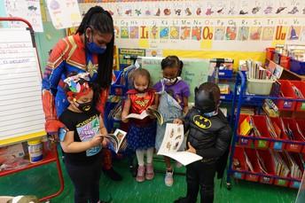 Kindergarten's Super Power is Reading!