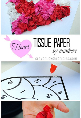 Paper Heart by Number