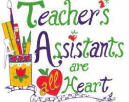 JBD THANKS OUR WONDERFUL TEACHER ASSISTANTS!