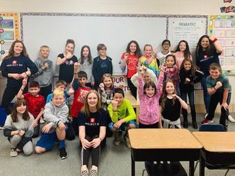 Lundahl B3 student leaders visited Indian Prairie, Glacier Ridge and Woods Creek