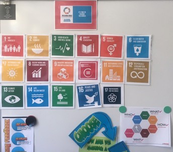 Students use Global Goals for everyday projects