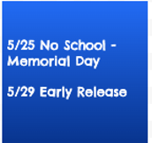 Learning plan for week of 5/25