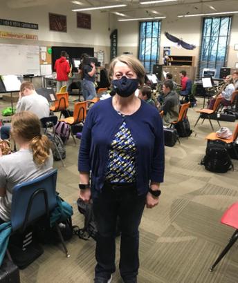 Teacher of the Month - Mrs. Adams