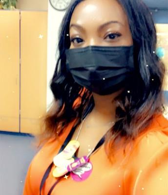 Ms. Robinson- School Secretary