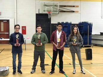 8th Grade Division Winners