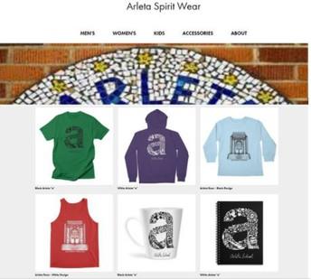 FREE SHIPPING ON ARLETA SPIRIT WEAR THRU 1/31
