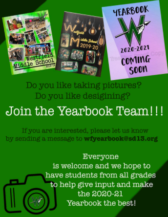 Join the Yearbook Team!