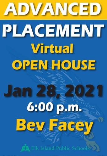 Advanced Placement Virtual Open House January 28 @6 p.m.
