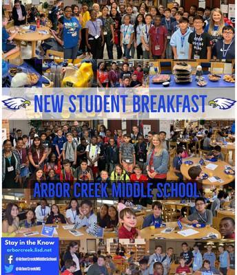 New Student Breakfast