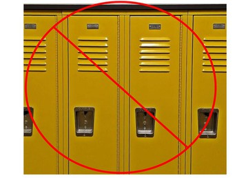 No Locker Use