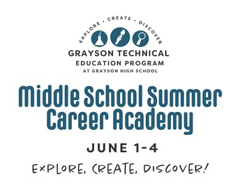Middle School Summer Career Academy