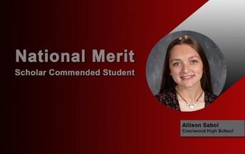 National Merit Commended Student