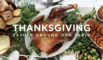 Friends Thanksgiving Lunch