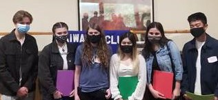 Group photo of scholarship winners