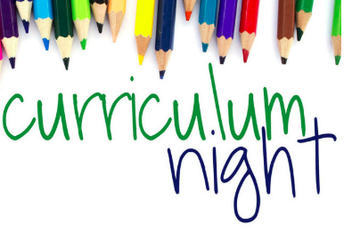 Curriculum Night General Presentations